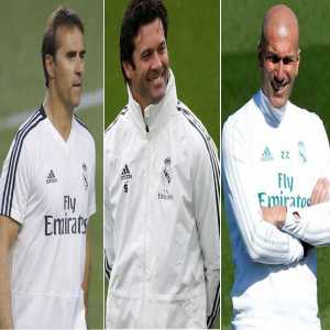 All 3 Real Madrid managers compared: Lopetegui: 10 games, 4 wins, 2 draws, 3 losses, 14 goals scored 14 goals conceded - Solari: 17 games, 12 wins, 1 draw, 4 losses, 33 goals scored 18 goals conceded - Zidane: 11 games, 5 wins, 2 draws, 4 losses, 16 goals scored 14 goals conceded