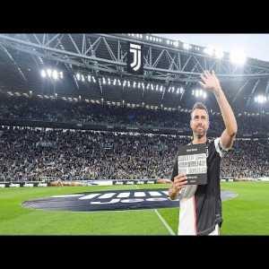 Allianz Stadium salutes Andrea Barzagli on his last home game for Juventus