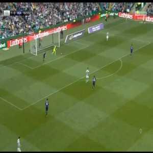 Celtic 1-[1] Hearts - Jake Mulraney 18'