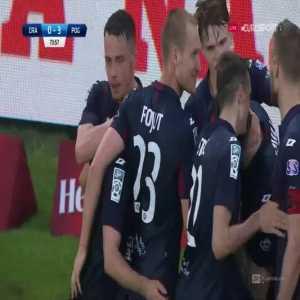 Cracovia 0-[3] Pogoń Szczecin - Radosław Majewski 74' (Polish Ekstraklasa)