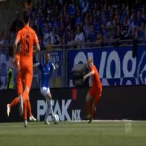 Darmstadt 1-0 Aue - Tobias Kempe 15'