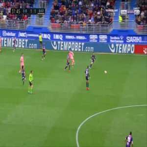 Eibar 1-[2] Barcelona - Lionel Messi 32'
