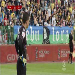 Elana Toruń [1]-1 Olimpia Elbląg - Wojciech Onsorge 32' (Polish 3rd tier)