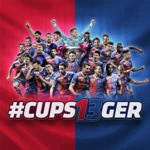 FC Basel have won the Swiss Cup for the 13th time in their history after beating Thun 2-1
