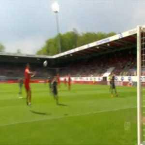 Heidenheim 1-0 Ingolstadt - Patrick Mainka scorpion kick 27'