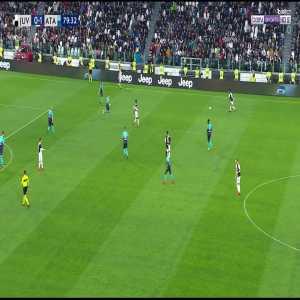 Juventus [1]-1 Atalanta - Mandžukić 80'