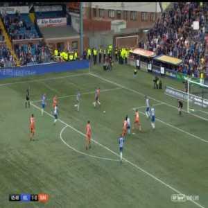 Kilmarnock 1-[1] Rangers - Alfredo Morelos 66'
