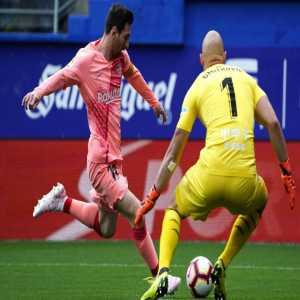 Leo Messi wins the Pichichi for 18/19