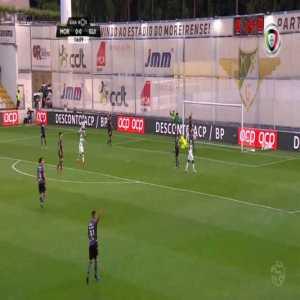 Moreirense 1-0 Vitoria Guimaraes - David Texeira 15'