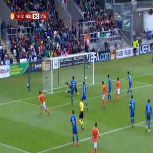 Netherlands U17 1-0 Italy U17 - Sontje Hansen 20'