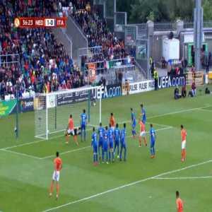 Netherlands U17 2-0 Italy U17 - Naoufal Bannis 37'