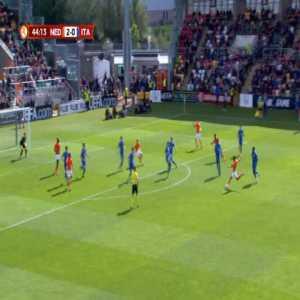 Netherlands U17 3-0 Italy U17 - Ian Maatsen 45'