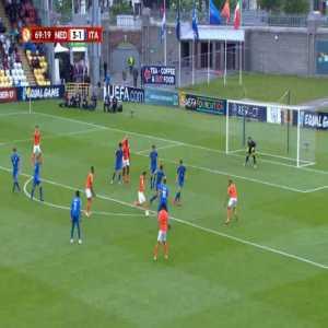 Netherlands U17 [4]-1 Italy U17 - Naci Unuvar 70'