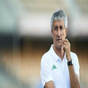 """Quique Setién: """"In a few hours time the club is going to put out a statement and you'll know my future."""""""