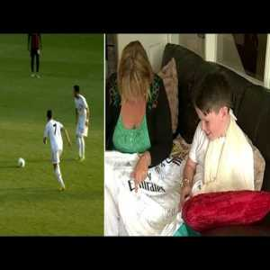 The day Cristiano Ronaldo broke a fan's wrist