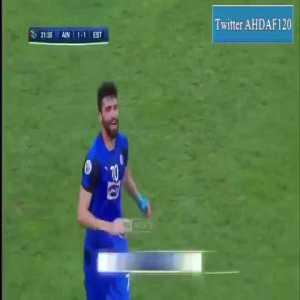 Al-Ain (UAE) 1 - [1] Esteghlal (Iran) — Mohammad Daneshgar 22' — (Asian Champions League)