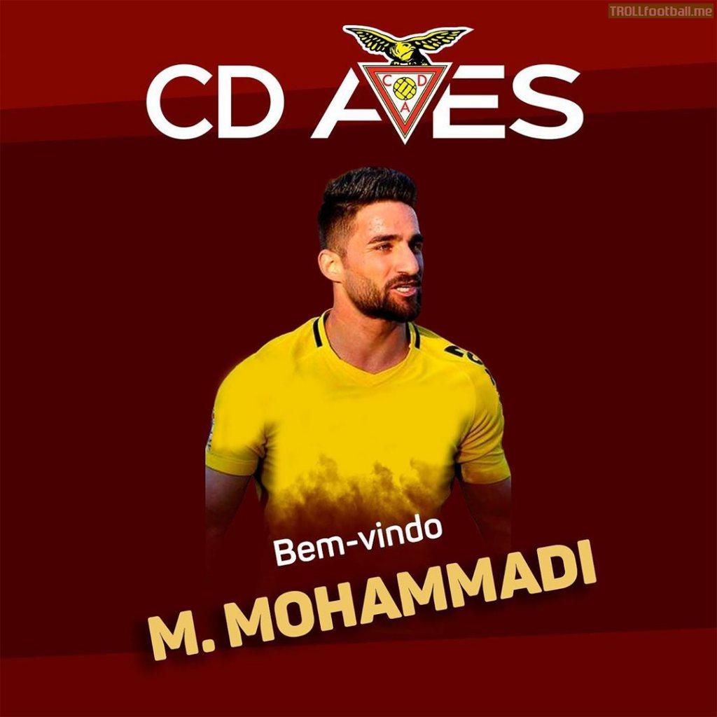 CD Alves signs Mehrdad Mohammadi