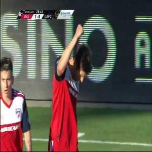 FC Dallas 1-0 LAFC - Ryan Hollingshead 29'