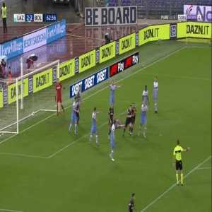Lazio 2-[3] Bologna - Riccardo Orsolini 63'