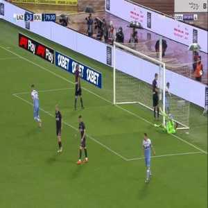 Lazio [3]-3 Bologna - Sergej Milinkovic-Savic free-kick 80'
