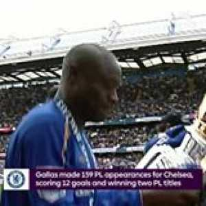 5 seasons 🔵 2 PL titles 🏆🏆  William Gallas joined Chelsea Football Club OnThisDay in 2001