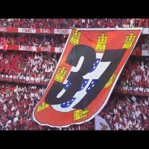 Benfica's anthem sung acappella by their fans before their last match (starts around 0:51 for acapella