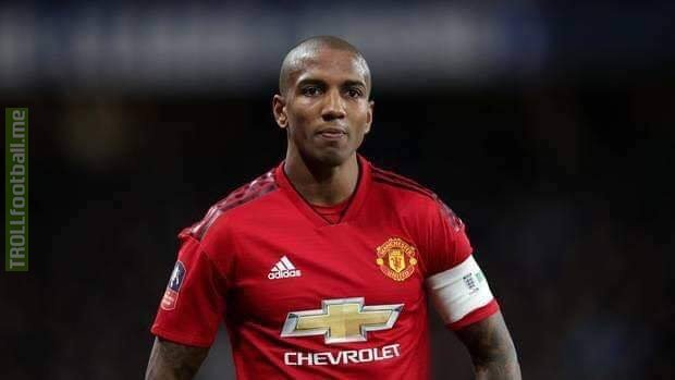 BREAKING: Ashley Young is expected to become Manchester United club captain next season. 😳😳