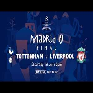 BT is making the 2019 UEFA Europa League Final and the UEFA Champions League Final free to watch on their youtube channel for people in the UK.