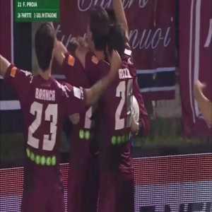 Cittadella 1-0 Benevento - Federico Proia 11'