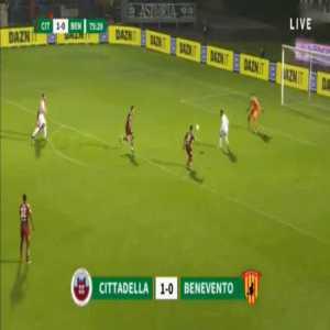 Cittadella 1-[1] Benevento - Roberto Insigne 76'