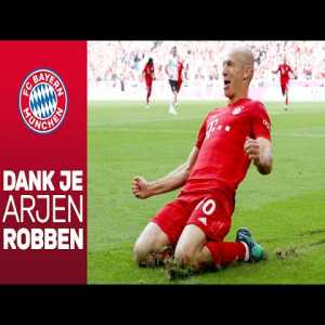 FC Bayern official farewell video for Arjen Robben