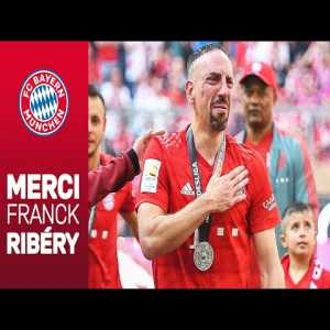 Franck Ribery's emotional goodbye at FC Bayern