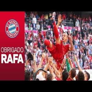 Rafinha bids emotional farwell to FC Bayern