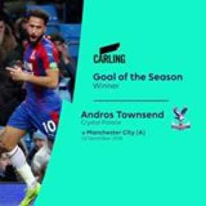 Your 2018/19 Carling Goal of the Season winner is… Andros Townsend! 🚀