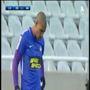 APOEL 0-1 AEL Limassol - Dossa Junior 10'