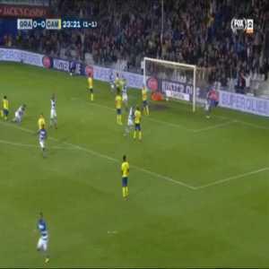 De Graafschap 1-0 Cambuur [2-1 on agg.] - Charlison Benschop 24'
