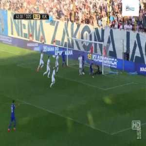 Dinamo Zagreb [1]-2 Rijeka - Mislav Orsic 63'