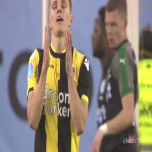Martin Ødegaard's game by numbers vs. FC Groningen: 106 touches, 52 passes, 9 chances created, 9 crosses, 8 recoveries 5 take-ons completed, 5 tackles made, 3 fouls won, 3 shots, 2 shots on target, 2 assists, 1 goal. Directly involved in all three goals. His game in a video compilation.