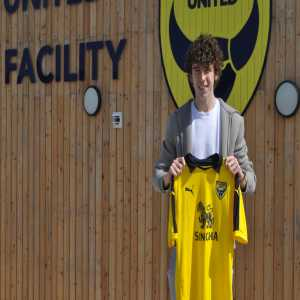 @OUFCOfficial: ✍️ #OUFC are pleased to welcome to the club young defender Sam Allardyce! #notthatone