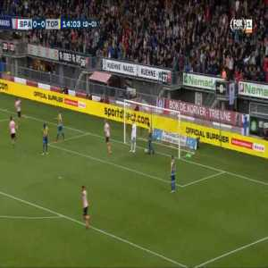 Sparta Rotterdam 1-0 FC Oss [3-0 on agg.] - Bart Vriends 15'
