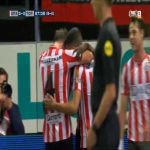 Sparta Rotterdam 3-0 FC Oss [5-0 on agg.] - Ragnar Ache 87'
