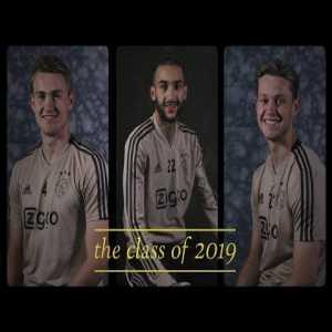 The Class of 2019. Ajax's social media team has once again produced an amazing video.