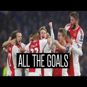 Ajax's 175 goals this season. Some beauties here.