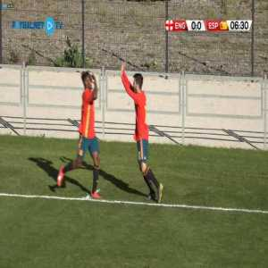 England U18 0-1 Spain U18 - Luis Binks (OG) 7'