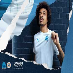 Marseille reveals their new home shirts for 2020