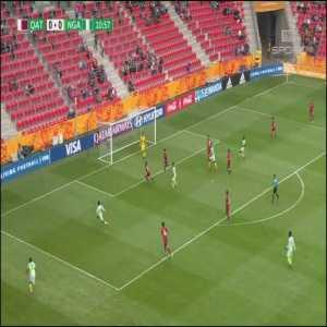 Qatar U20 0-[1] Nigeria U20 - Maxwell Effiom 12' [World Cup U20]