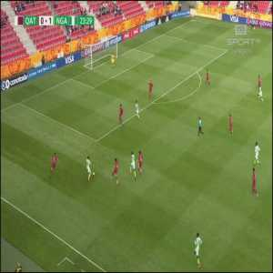 Qatar U20 0-[2] Nigeria U20 - Okechukwu Offia 24' [World Cup U20]
