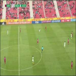 Qatar U20 0-[3] Nigeria U20 - Tom Dele-Bashiru 68' [World Cup U20]