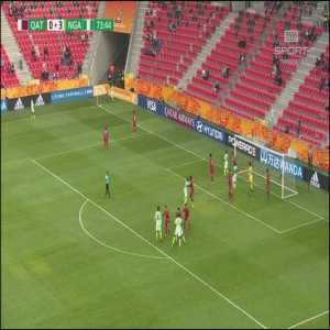 Qatar U20 0-[4] Nigeria U20 - Aliu Salawudeen 74' [World Cup U20]