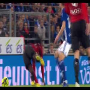 Stade Rennes 16 year old starlet Eduardo Camavinga vs Strasbourg